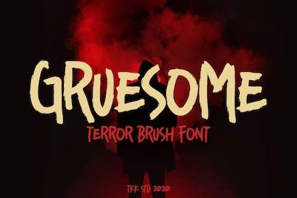 Horror - Horror Scary Font