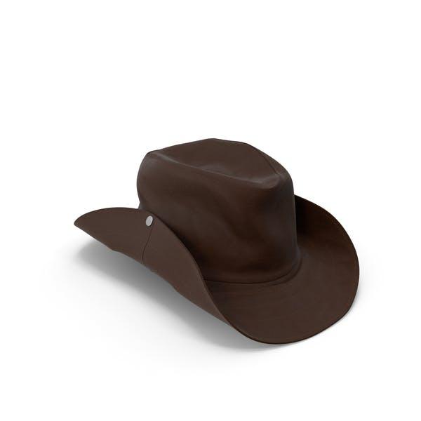 Mens Hat Brown