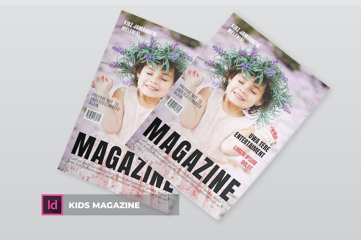 Thumbnail for Kids | Magazine Template
