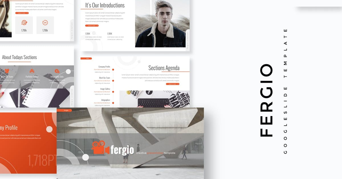 Download Fergio - Google Slide Template by aqrstudio