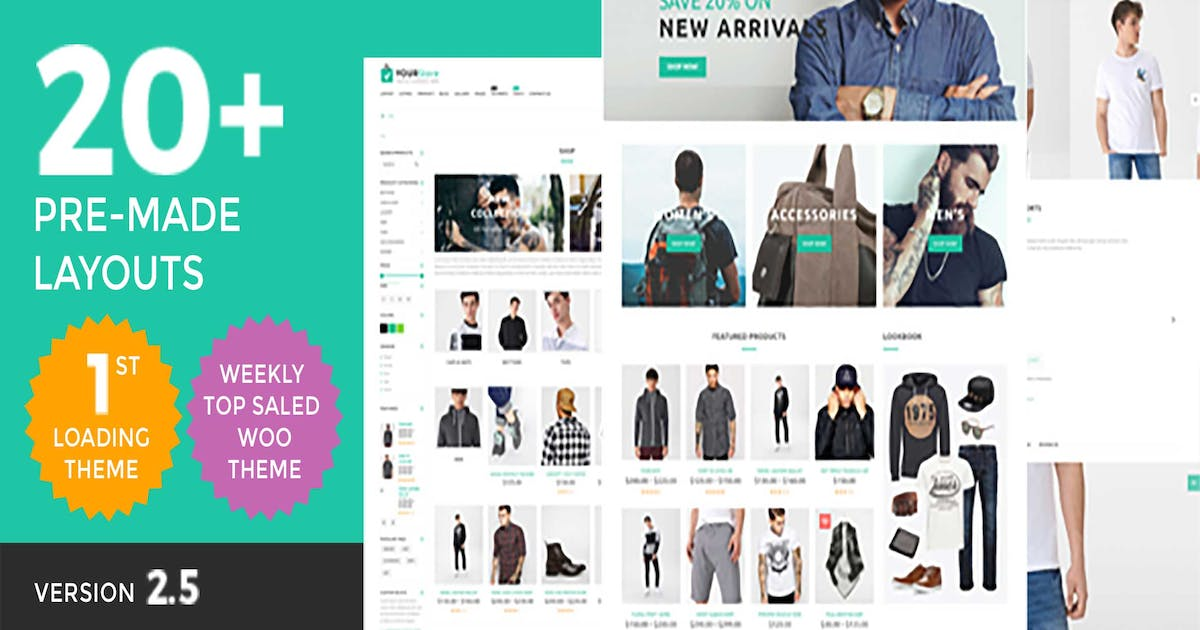 Download YourStore - Woocommerce theme by SmartDataSoft