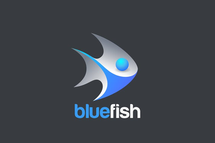 Thumbnail for Fish Logo 3d Design vector