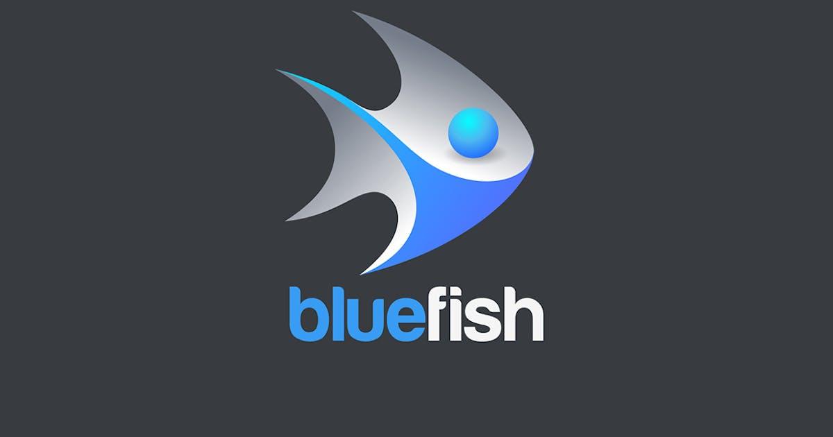 Fish Logo 3d Design vector by Sentavio