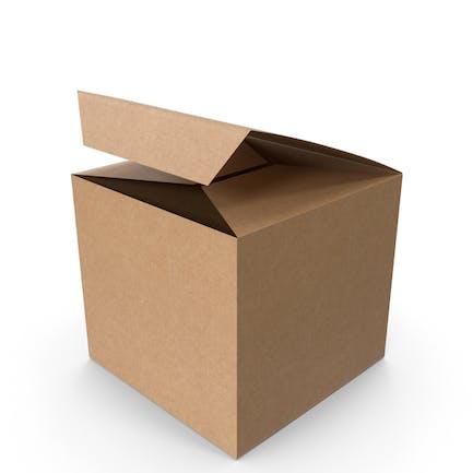 Caja de embalaje cuadrada
