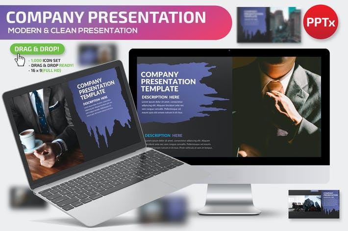 Thumbnail for Company Powerpoint Presentation