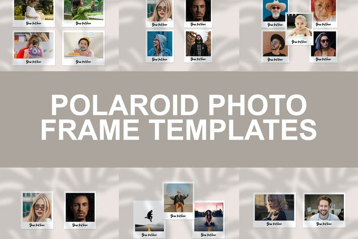 Thumbnail for Polaroid Photo Frame Templates