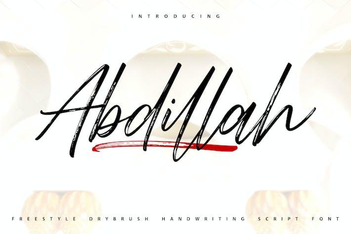 Thumbnail for Abdillah | Letra de escritura a mano