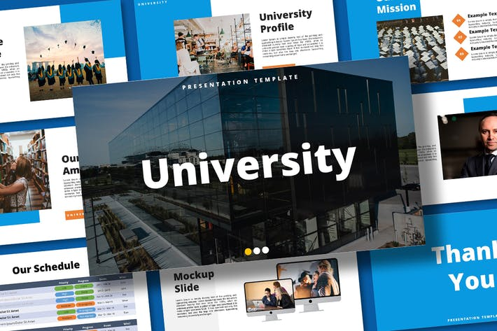 Thumbnail for University - Keynote Template