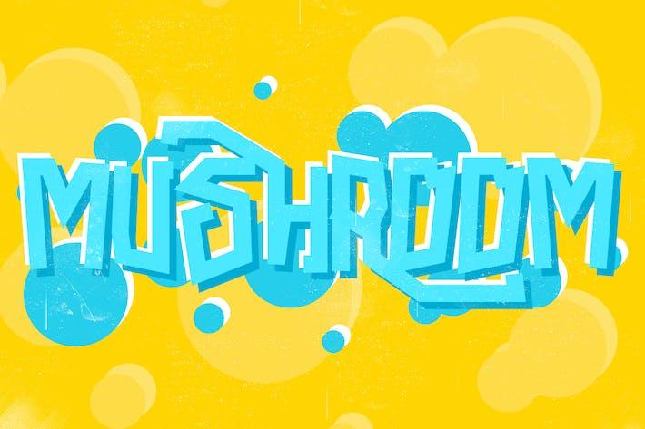 Thumbnail for Mushroom Font