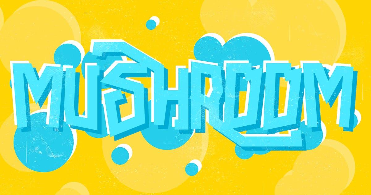 Download Mushroom Font by LeoSupply