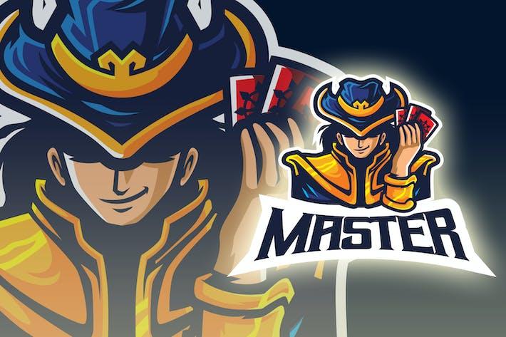 Thumbnail for The Master - Fortune Teller Mascot Esport Logo