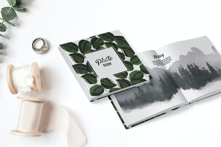 Cover Image For Leaves Photo book