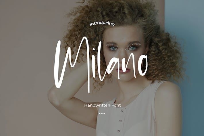 Thumbnail for Milano - Stylist Font