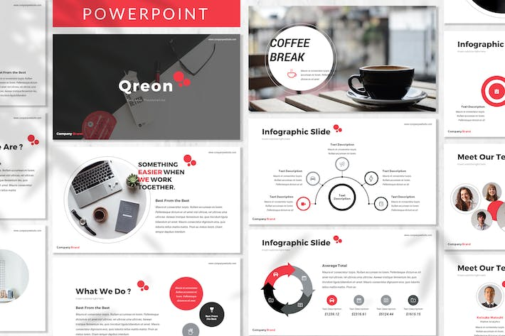 Thumbnail for Qreon - Business Powerpoint Template