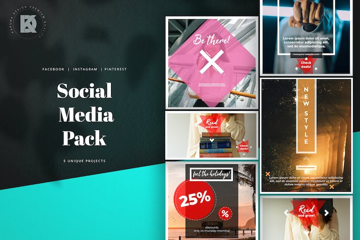 Thumbnail for Social Media Banners Pack