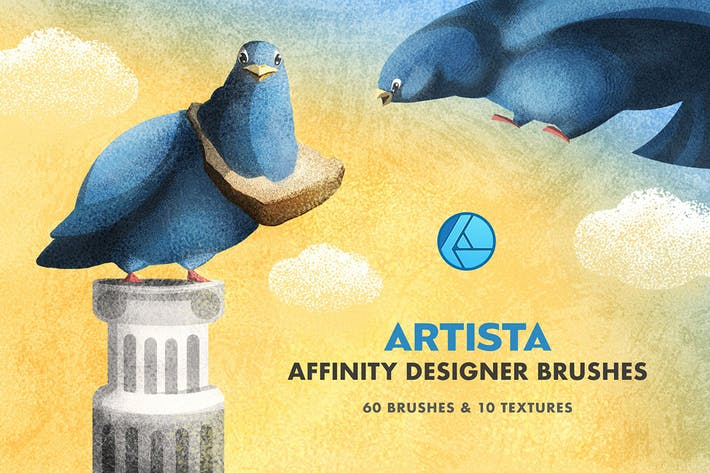 Artista Affinity дизайнер кисти