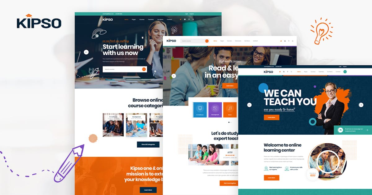 Download Kipso - Online Education Learning & LMS HTML by Layerdrops