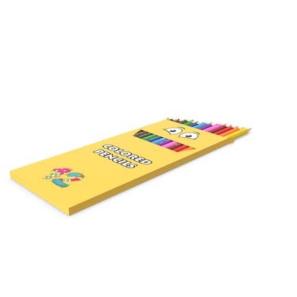 Caja de lápices de colores