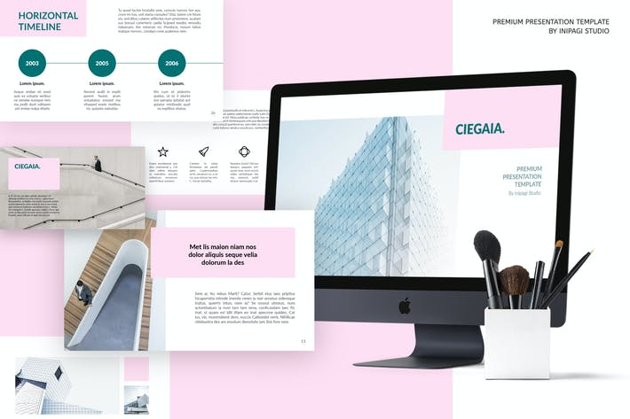 Thumbnail for Ciegaia Presentation Template