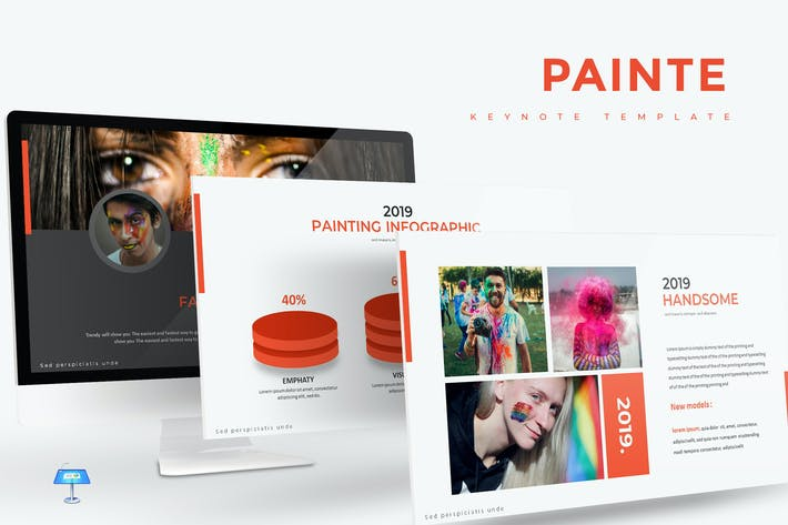 Thumbnail for Painte - Keynote Template