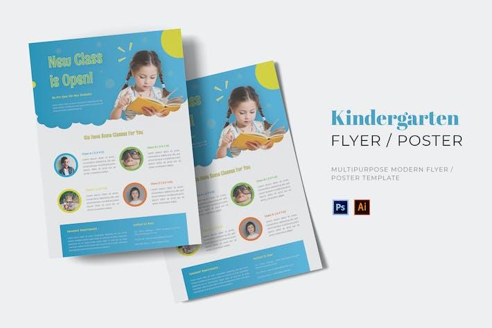 Thumbnail for Kindergarten Flyer