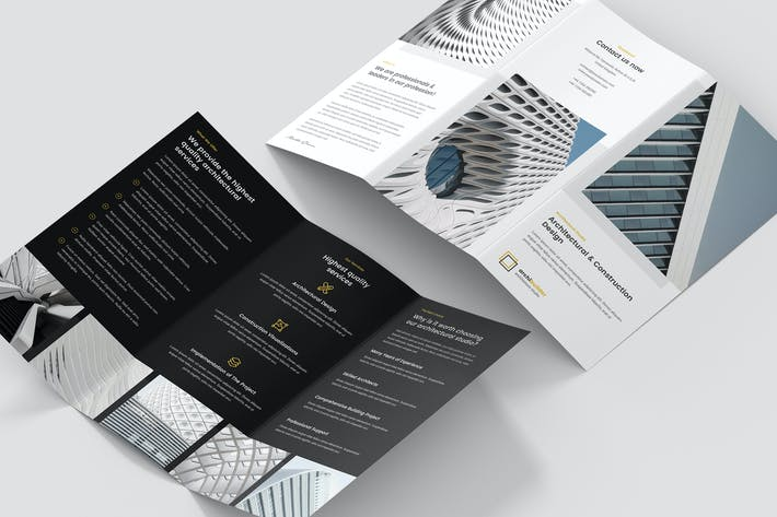 Thumbnail for Brochure – Architect Tri-Fold