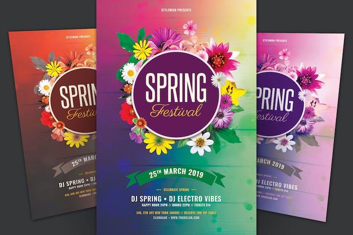 Thumbnail for Spring Festival Flyer
