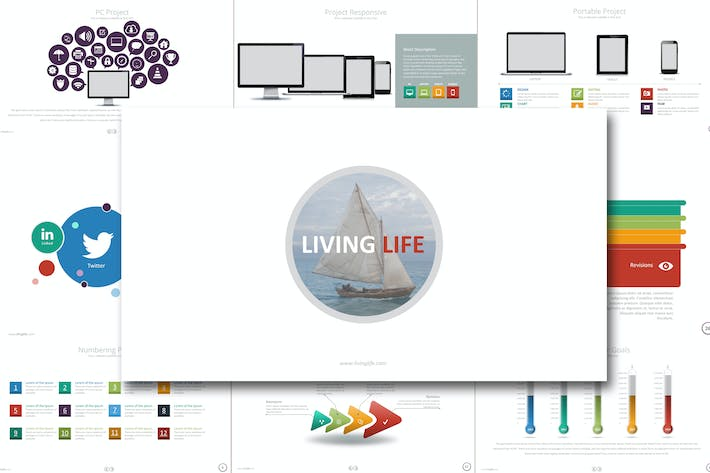 Thumbnail for LIVING LIFE Google Slides