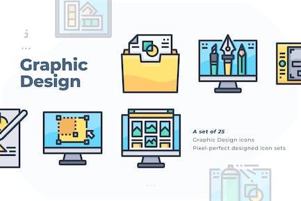 25 Graphic Design Icon