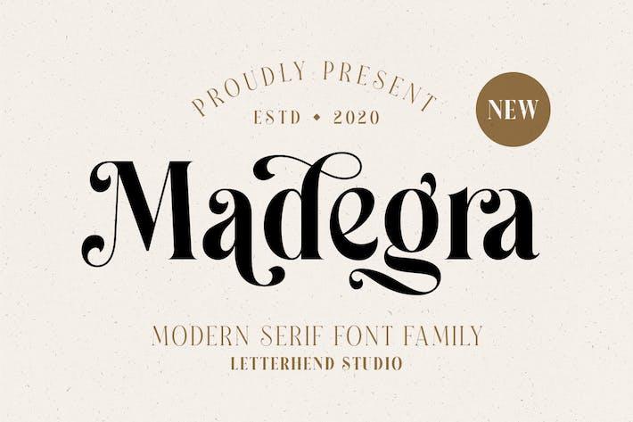 Madegra Con serifa (Estilos de fuente de 9 Peso)