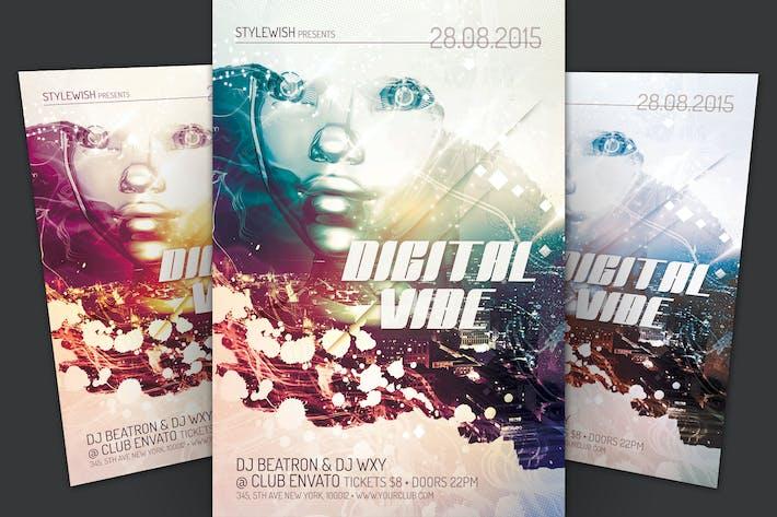 Thumbnail for Digital Vibe Flyer