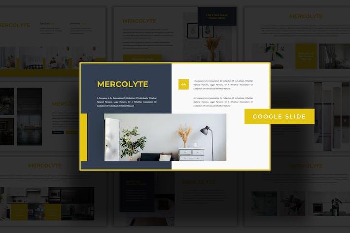 Thumbnail for Mercolyte - Google Slides Template