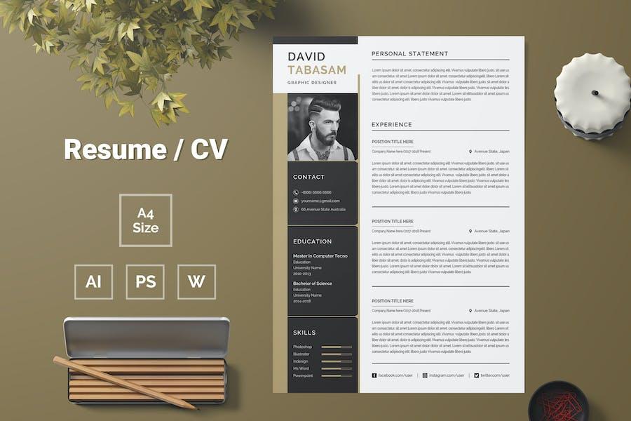 Resume Template 73
