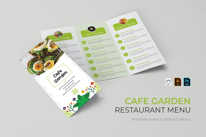 Thumbnail for Cafe Garden | Restaurant Menu