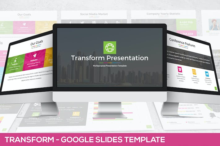 Thumbnail for Transform - Google Slides Presentation Template