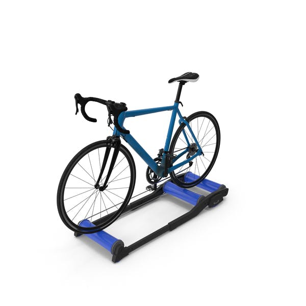 Thumbnail for Road Bike Riding Roller Trainer