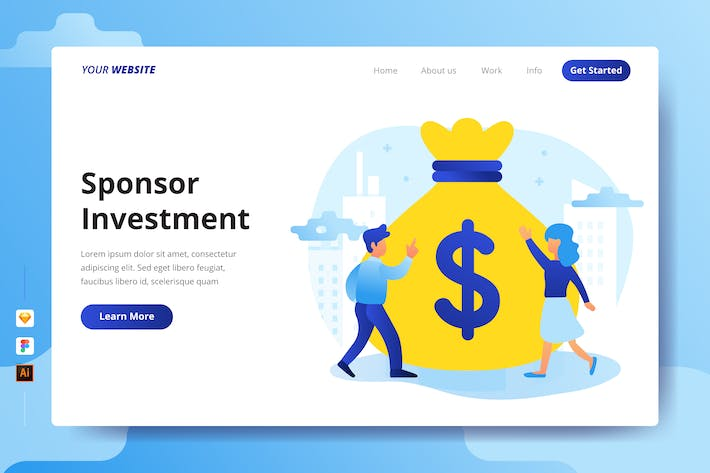 Thumbnail for Sponsor Investment - Landing Page