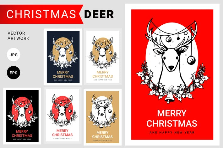 Thumbnail for Christmas Deer