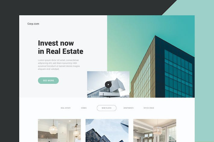 Thumbnail for Business & Real Estate - Website