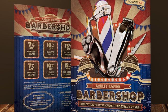 Thumbnail for Vintage Barbershop Flyer