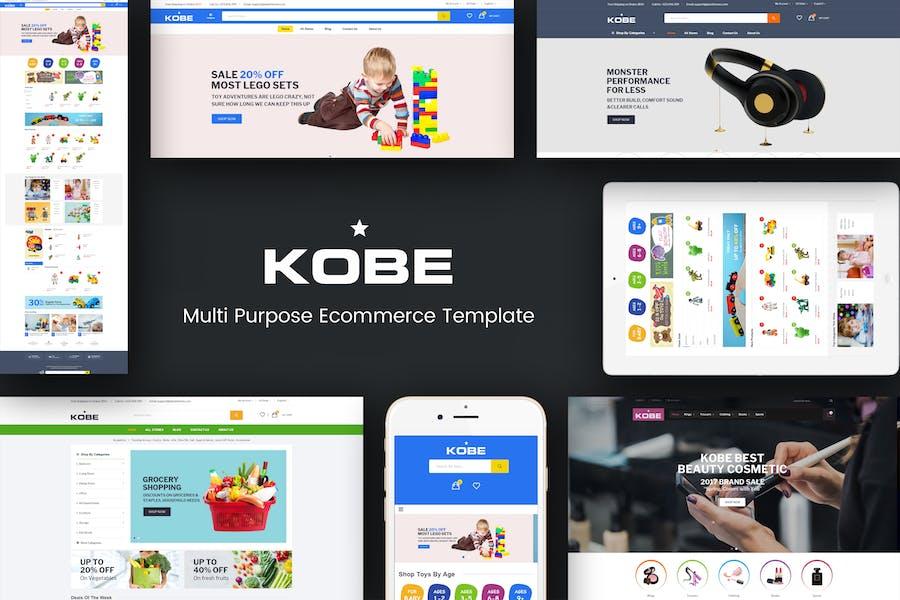 Kobe - Multi Store Responsive Prestashop Theme