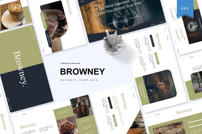 Thumbnail for Browney | Keynote Template