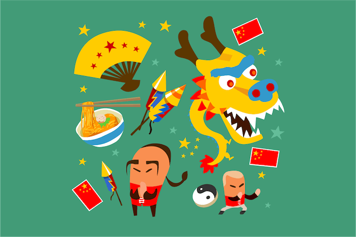 Thumbnail for Kit de cultura china