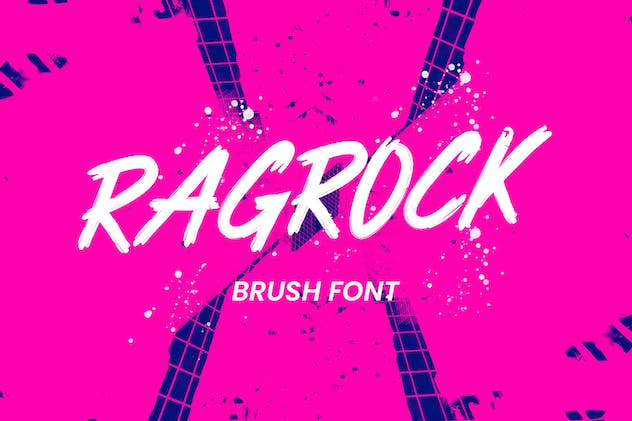Ragrock Brush Font - product preview 0