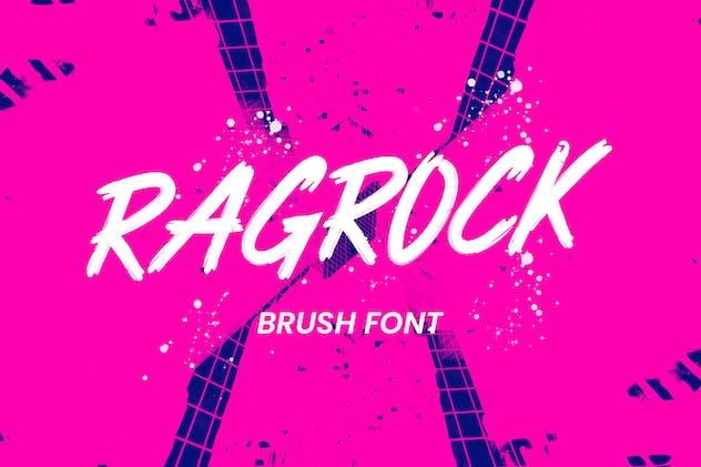 Ragrock Brush Font