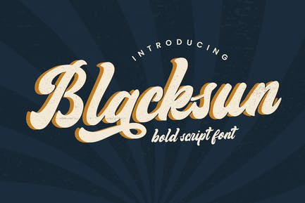 Fuente Vintage Blacksun
