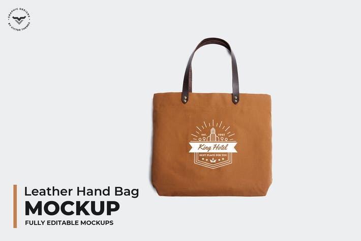 Thumbnail for Leather Hand Bag Mockups