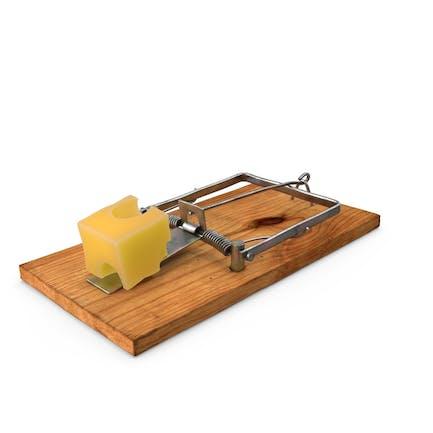 Mausefalle mit Käse