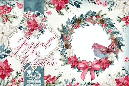 Joyful Winter design