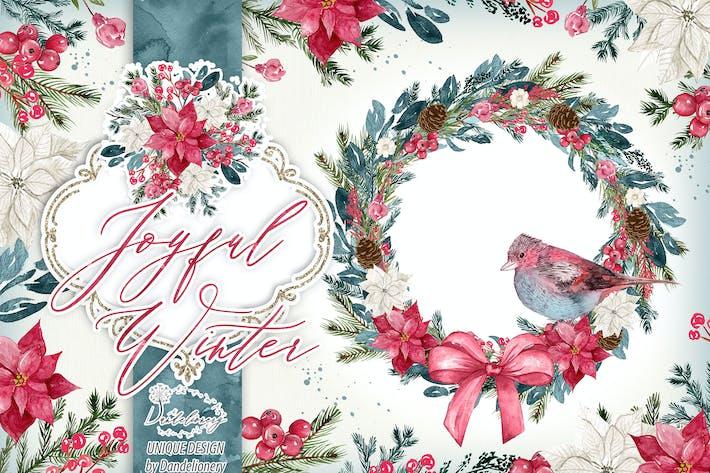 Thumbnail for Joyful Winter design